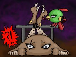 Hitmonlee Tickled by Lord-Reckless