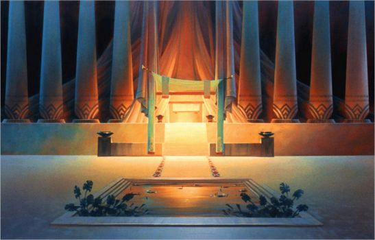 The Prince of Egypt Colonnade by NathanFowkesArt