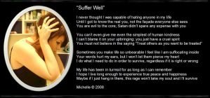 Suffer Well by VisualPoetress