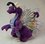 Needle Felted Fairy Dragon by The-GoblinQueen