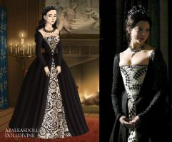 Anne Boleyn the Ghost Queen by LadyAquanine73551