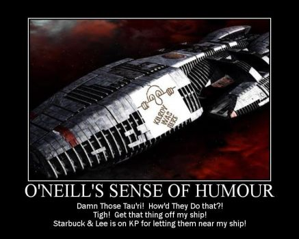 O'Neill's Sense Of Humour by kclcmdr