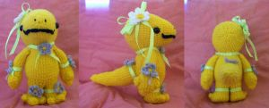Crocheted Quetzal close up by Soggy-Wolfie on DeviantArt