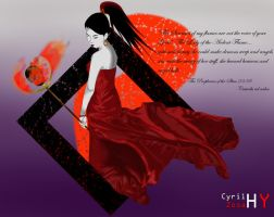 Kymm of the Ardent Flame by cyrilzosahellyeah