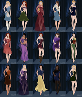 Disney Girls-Jessica Rabbit Style by InuyashaRules6596