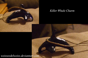 Orca Charm by WeisseEdelweiss
