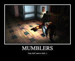 SILENT HILL-MUMBLERS DEMOTIVATIONAL POSTER by Imadork007