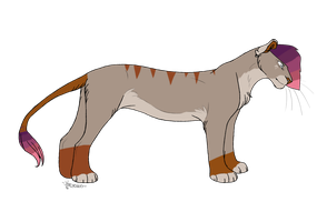 Lioness Adopt by Amazing-Max