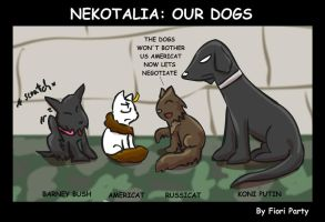 Nekotalia: Our Dogs by fiori-party