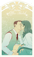 Mythea - Office Smooch by RedPassion