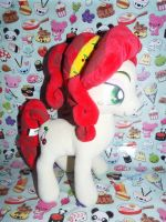 (MLP)Chinese Knockoff Cherry Jubilee Plushie by KrazyKari