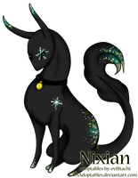 FurryPantherAdopts: Black Snow by Adpt-Event-Manager