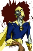 Zombie Doctor Fate by mothbot