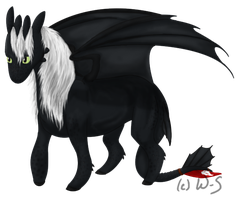 Toothless Horse by Wolf-Shadowrunner