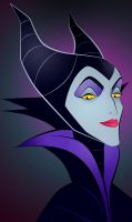 Maleficent by smoothdog2000