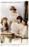 imperial daughters 1914. by GrandDuchessIsabelle