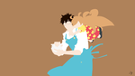 Amaama to Inazuma Minimalist Anime by Lucifer012