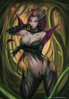 Zyra - League of legends by Felox08