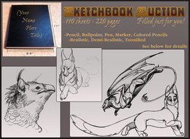 Sketchbook Auction by Callairah