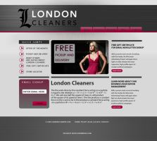 London Cleaners Mockup by cwylie0