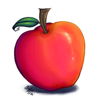 Apple by BakaMichi