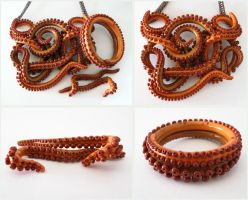 Fall Tentacle Set LS07 by KTOctopus
