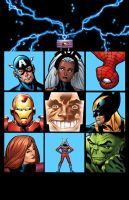 The Avengers Bunch by GURU-eFX