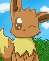 Eevee thingy by SnowMinx