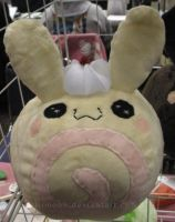 Sweet Roll Cake Bunny Plush by LiLMoon