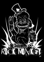 ROCK MONKEY by CRAZYGRAFIX