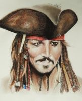Jack Sparrow by Louise-Veale