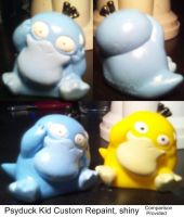 Shiny Psyduck Repaint by PleinairBunny