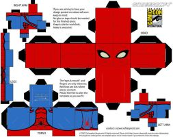 Amazing Spider-Man cubee by spiderfan05