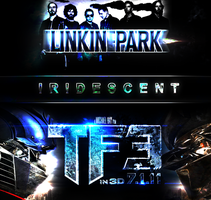 Linken Park - Iridescent Art by iamZADDI