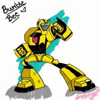Bumblebee by Horseluver65