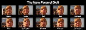 The Many Faces of DAN by flexdaw