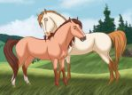 Reed and Alonso by silverglass19