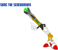 Sonic The Screwdriver by The2ndD
