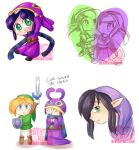 A link between worlds sketches by PatyKida