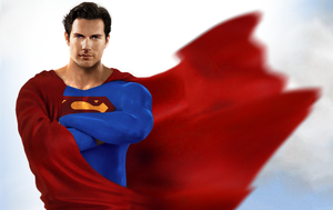 Cavill as Superman 2 by hobo95