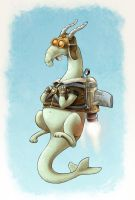 Jetpack Dragon by pabloyungblut