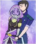 Tali and shepard by Danielle-chan