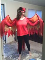 Phoenix Costume! by AmericanBlackSerpent