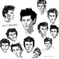 Bellamy sketches by katribou