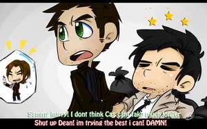 Dean and Cas by ButtMantis