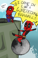 Wade came in like a wrecking ball. Like always. by MasterTchotchke