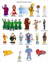 X-Men in American Dad Style 4 by bartje006