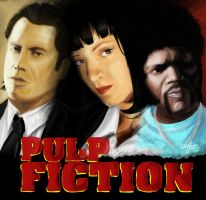 Pulp Fiction by Hermosilla