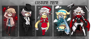 RC: Costume Meme by Shark-kun00