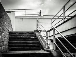 Stairs to the Landing by amipal